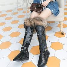 womens fur boots canada canada nubuck leather fox fur boots supply nubuck leather fox fur