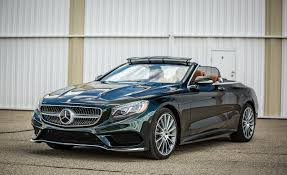 used mercedes convertible 2017 mercedes benz s550 cabriolet instrumented test u2013 reviews