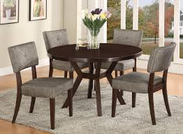 5 pc dining table set crown mark kayla 5 piece dining table and chair set dunk bright