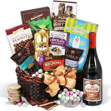 Wine And Chocolate Gift Basket Easter Basket Ideas Ct Boom