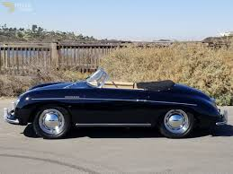porsche speedster interior classic 1956 porsche 356 speedster cabriolet roadster for sale