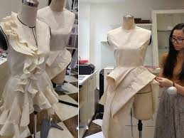Advanced Draping Techniques Elena Fashion Design Workshops Zero Waste Design Projects 2017
