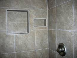 Built In Shower by Home Decor Nice Easy Bathroom Shower Tile Shelves Design With