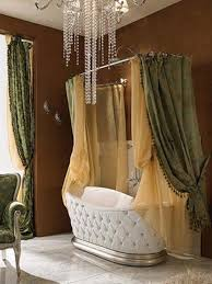 glamorous bathroom ideas with dark colored creative shower curtain