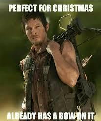 Meme Walking - walking dead meme 018 christmas bow comics and memes