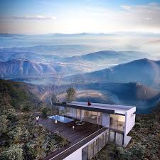 Beautiful Mountain Houses by Beautiful Serbian Star House Modern Design With Breathtaking Views