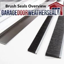 overhead garage door weather stripping brush seals archives garage door weather seal