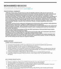 12 Amazing Education Resume Examples Livecareer by Hospitality Resume Examples Hospitality Resume Example Service