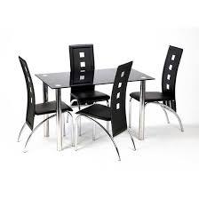 new chairs for dinning room john pinterest black glass