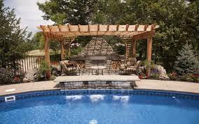 Plain Backyard Pool Designs Landscaping Pools Ideas Pictures - Backyard oasis designs