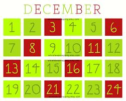 printable christmas calendar for kids 2017 u2013 blank calendar 2017