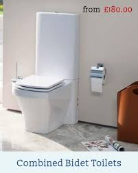 Toilet Bidet Combined Toilets Close Coupled Wc Back To Wall Pan And Seat Wall Hung