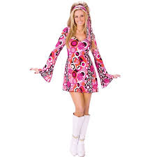 Halloween Hippie Costumes Buy Feelin U0027 Groovy Costume