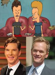 Beavis And Butthead Halloween by Benedict Cumberbatch And Neil Patrick Harris Totallylookslike
