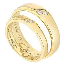 wedding gold rings wedding commitment rings h samuel