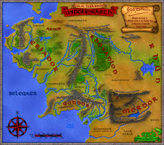 Map Middle Earth Full Map Of The Land Of Arda Middle Earth Undying Lands Etc