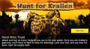 Backyard Monsters Wiki Hunt For Krallen Backyard Monsters Wiki Fandom Powered By Wikia