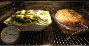 cuisine basse temperature légumes et garnitures chaudes en même temps que les mets cuits à