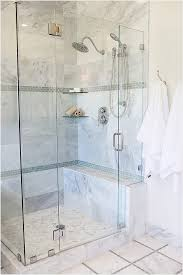 Marble Bathroom Showers Bathroom Corner Shower Ideas Above Shiny White Marble Floor Hang