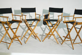 Tall Director Chairs Rent 4 Telescope Tall Directors Chairs Sharegrid Los Angeles