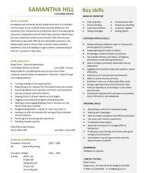 extraordinary ideas skills to put on a resume for customer service