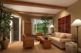 interior dazzling tropical interior design with stone staircase