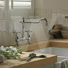 Traditional Kitchen Mixer Taps - traditional victorian kitchen sink mixer tap brushed nickel best