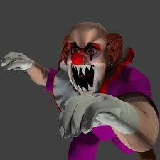 clowns 3d halloween horror nights 3d model weird clown cgtrader