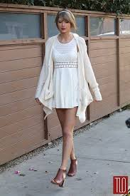 taylor swift in free people in los angeles tom lorenzo