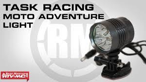 best helmet mounted light task racing moto adventure helmet light youtube