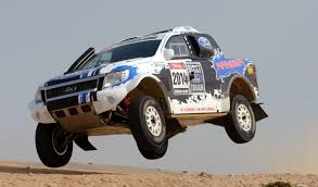 ford racing ranger a bakkie built for dakar glory daily maverick