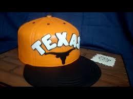 making a texas longhorn cap cake youtube