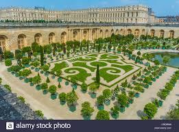 Versailles Garden Map Paris France The Chateau De Versailles French Castle Orangerie