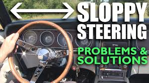 Vintage Ford Truck Steering Wheel - sloppy steering syndrome problems u0026 solutions youtube