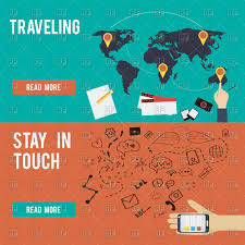 traveling websites images Flat design traveling concept banners for websites and apps jpg