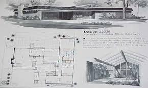 mid century modern floor plans homes zone