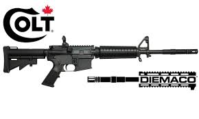 diemaco sa 15 7 and sa 20 semi automatic rifles new from colt
