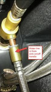 remove kitchen sink faucet how do i remove kitchen sink sprayer hose home improvement