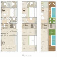 100 triplex floor plans stanhope gate architecture mayfair by