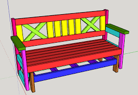 How To Build A Garden Bench With A Back Farmhouse Outdoor Glider Bench Buildsomething Com