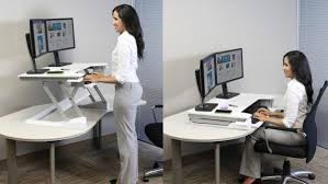 Standing Sitting Desk Ergotron Poll Respondents Taking A Stand On Standing Desks With
