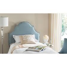 safavieh hallmark wedgwood blue queen headboard mcr4680e the