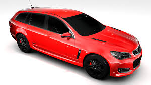 holden ssv holden commodore ss v redline sportwagon vf series 3d model