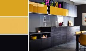 cuisine jaune citron déco cuisine jaune et gris 83 paul cuisine couleur