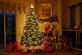 christmas decoration inside house