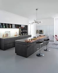ultra modern kitchen cabinets ultra modern kitchen designed with sleek doors cabinets and