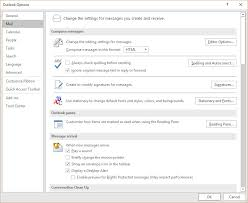 how to add change setup install email signature outlook 2016