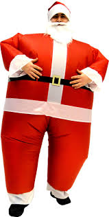 santa claus costume for toddlers santa claus inflatable chub suit costume with beard and hat