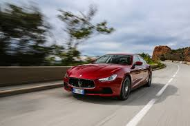 maserati ghibli red 2015 maserati ghibli diesel review improved italian still lags e