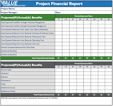 Construction Expense Report Template by Project Management U2013 Value Generation Partners Vblog